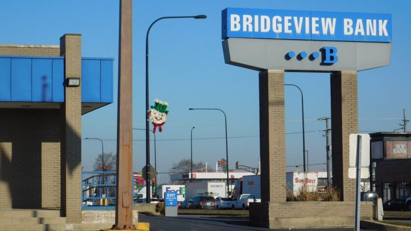 Bridgeview Bank Mortgage Co., a lending division of Bridgeview Bank, notified the state of 116 layoffs last month.