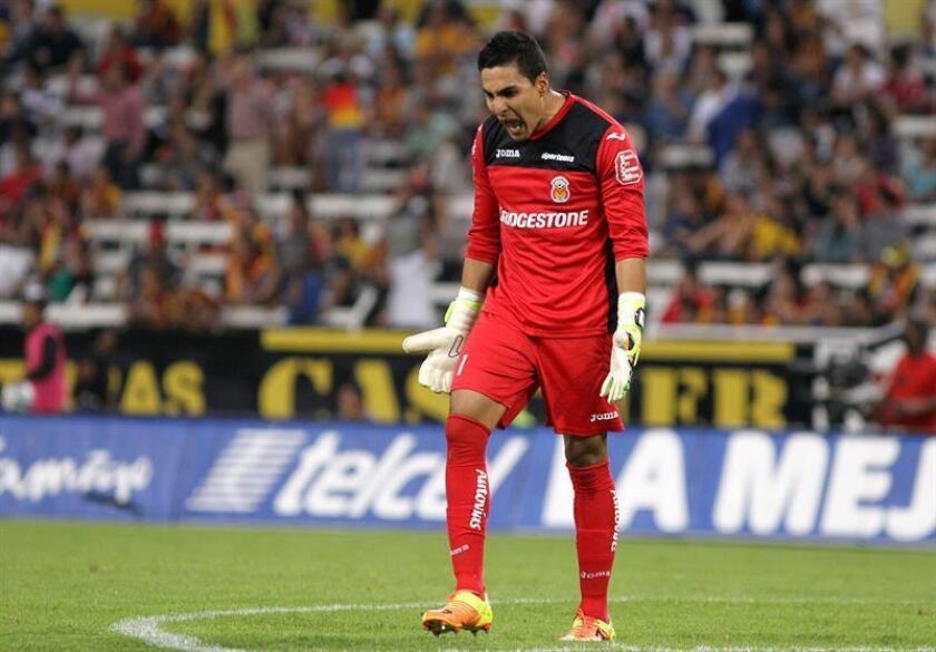 El guardameta mexicano Carlos Rodríguez dijo hoy que el Morelia no logró los puntos que deseaba en el torneo pasado si pudo recortar la distancia con sus rivales en la pelea por la permanencia en el máximo circuito del fútbol mexicano. EFE/ARCHIVO