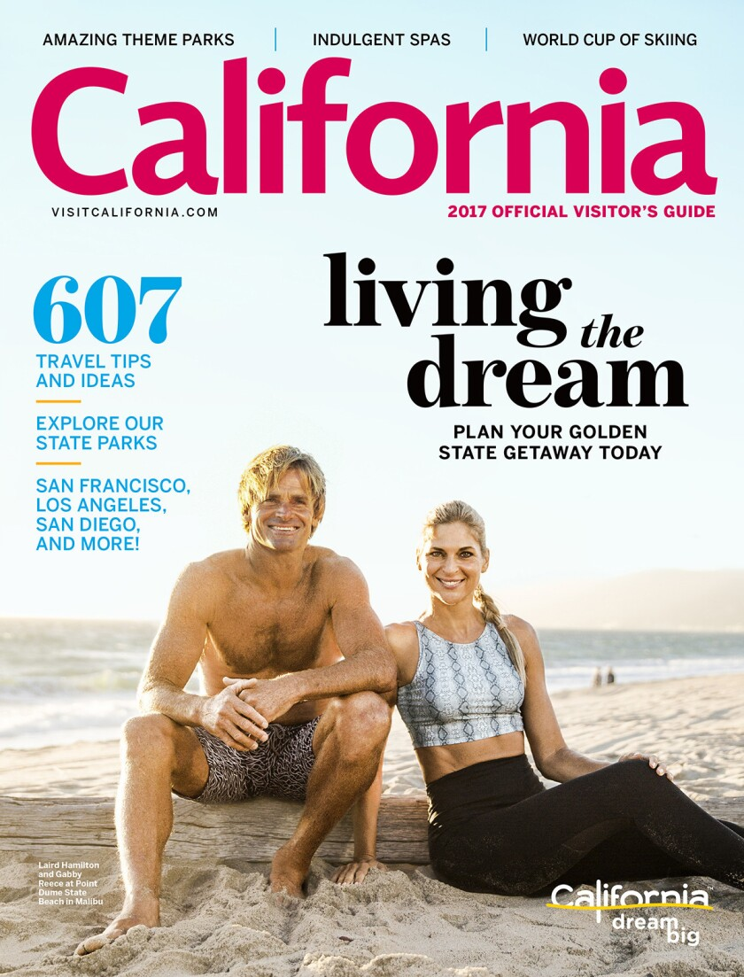 Plan your next road trip or weekend getaway with the state tourism office's new California 2017 Official Visitor's Guide, available in print or by download.