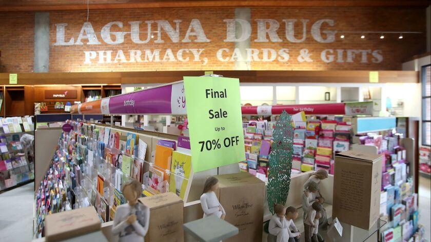 Laguna Drugs will soon close its doors in downtown Laguna Beach.