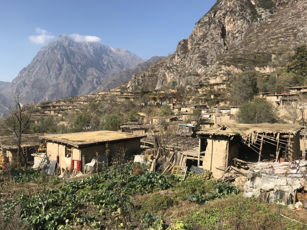 Authorities have not demolished all the homes in these old villages because they plan to turn some into tourist attractions.