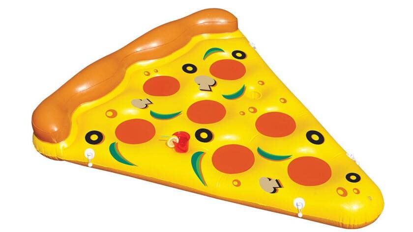 A pizza pool float from www.toysplash.com.