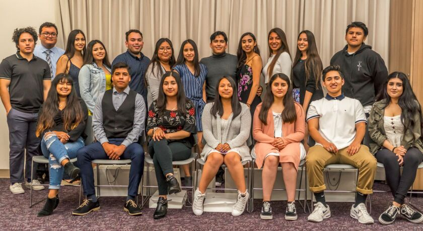 Casa de Amistad scholarship recipients (alumni and graduating seniors)