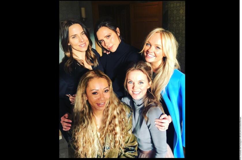 Aún no confirman si habrá un proyecto musical juntas, pero las integrantes de las Spice Girls sí tuvieron un reencuentro.