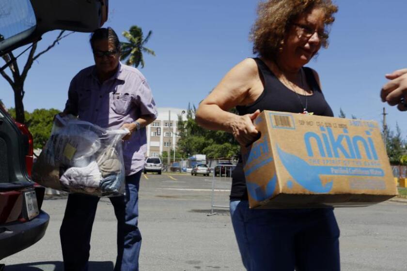 Crean centros de acopio para ayudar a Bahamas en 33 municipios de Puerto Rico