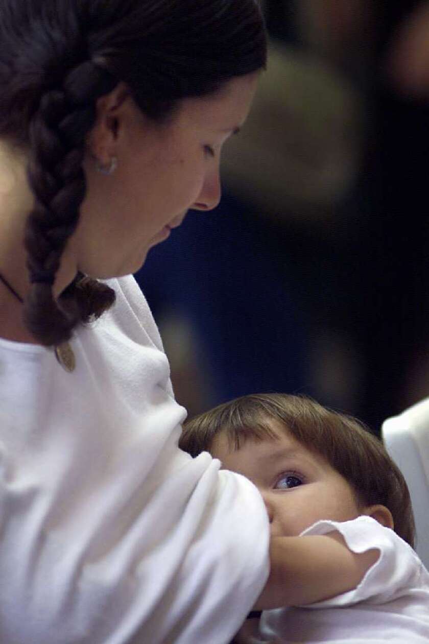 More American mothers are giving breast-feeding a try, and more of them are sticking with it for six months or longer, according to a new report from the CDC.