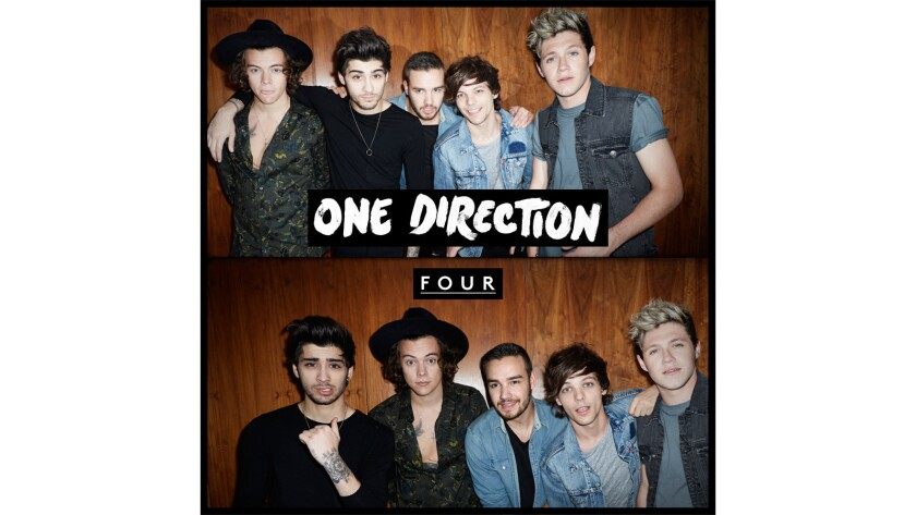 Review:'Four,' by One Direction, shows how quickly they grow up