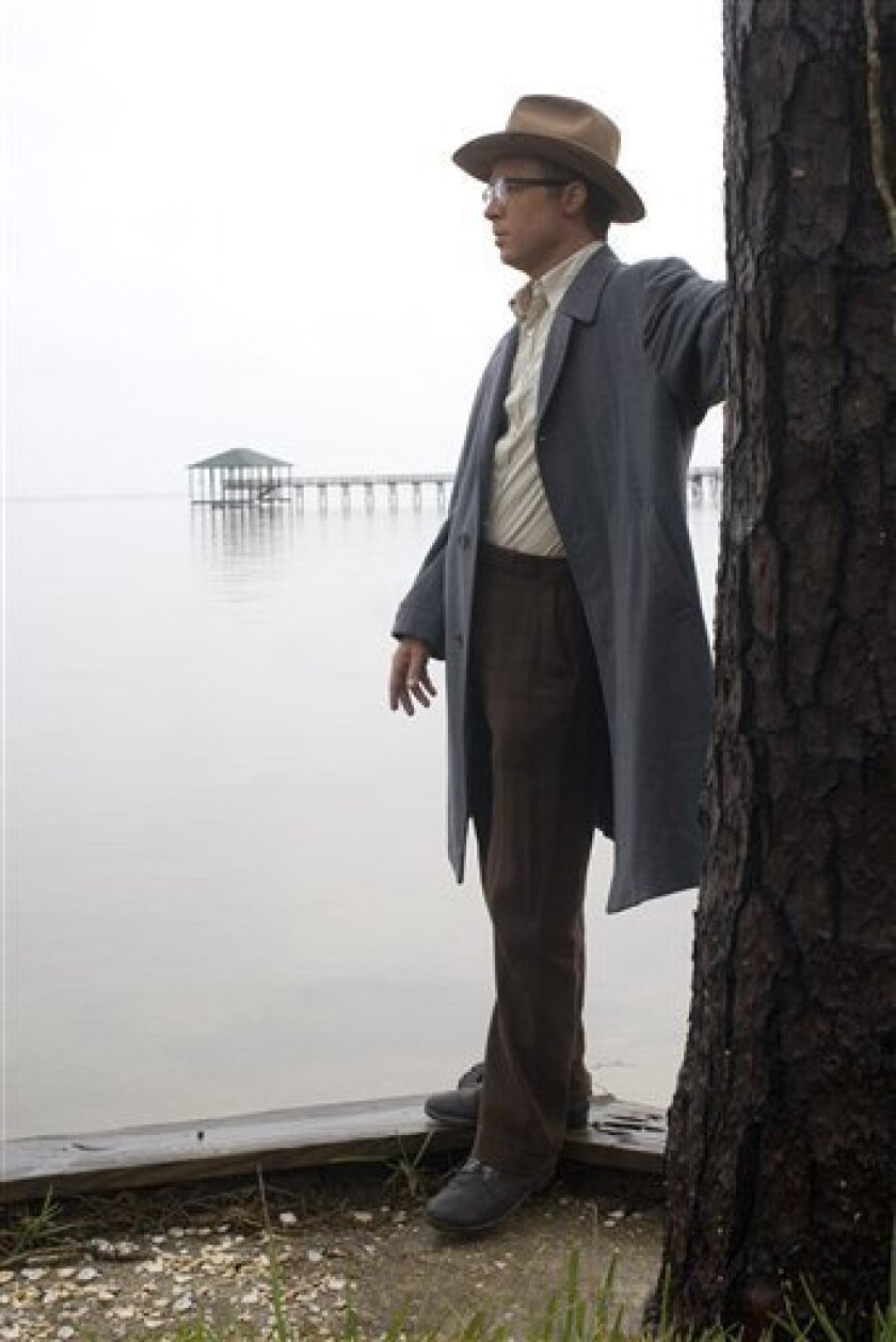 """In this image released by Paramount Pictures, Brad Pitt is shown in a scene from """"The Curious Case of Benjamin Button.""""   (AP Photo/Paramount Pictures, Merrick Morton)"""