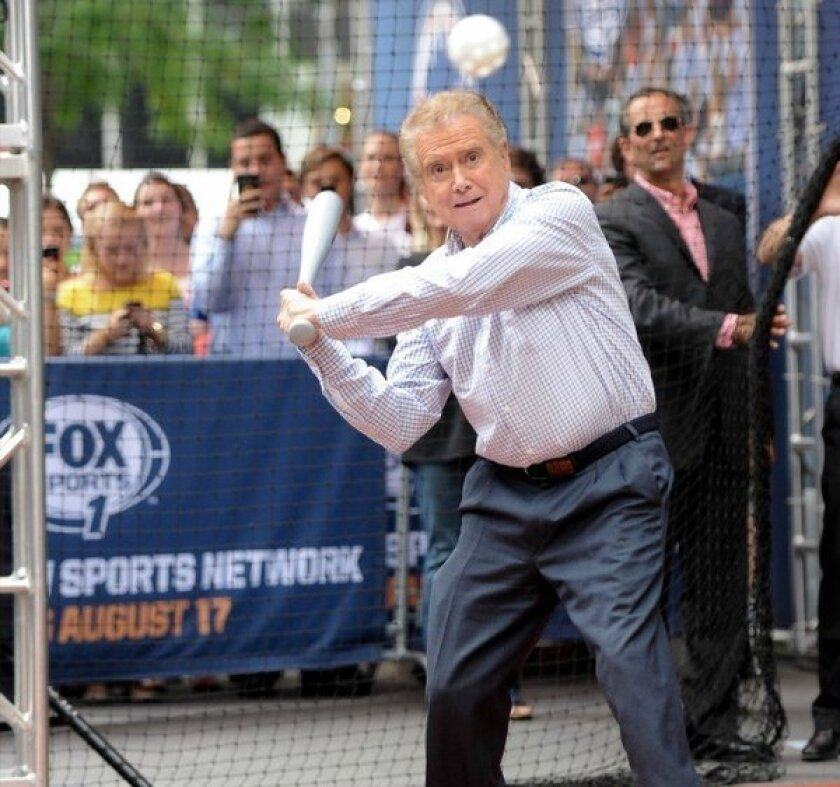 Regis Philbin will host a show on Fox Sports 1.