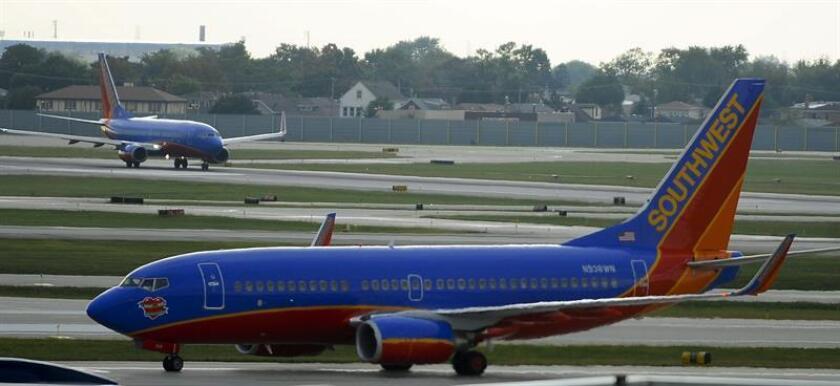 La directora ejecutiva interina de la Compañía de Turismo de Puerto Rico (CTPR), Carla Campos, anunció hoy que Southwest Airlines aumentará la frecuencia en dos de sus rutas hacia el Aeropuerto Internacional Luis Muñoz Marín (SJU). EFE/Archivo