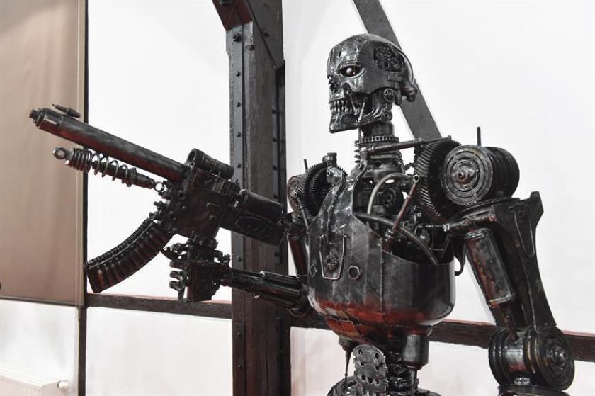 El actor latino Gabriel Luna será el nuevo Terminator en la sexta entrega de la saga de ciencia ficción, que contará con James Cameron como productor, informó hoy el blog especializado Deadline. EFE/ Jacek Bednarczyk PROHIBIDO SU USO EN POLONIA[PROHIBIDO SU USO EN POLONIA]