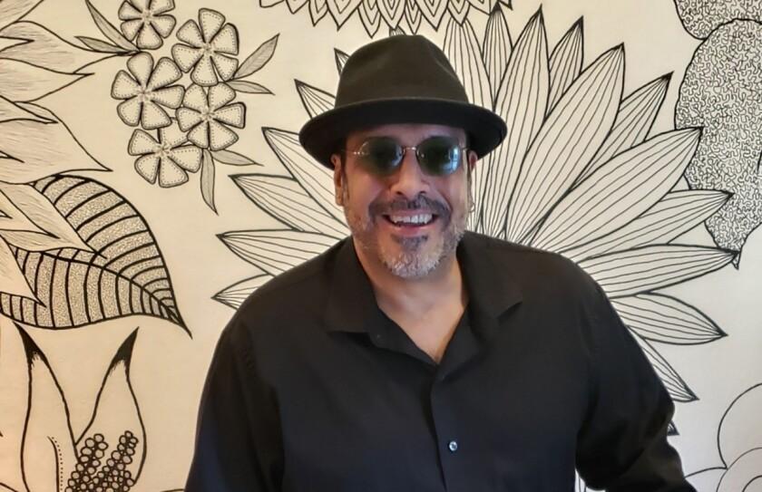 Latin percussionist Manny Lopez