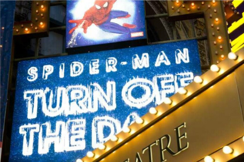 Julie Taymor reaches settlement over 'Spider-Man' musical