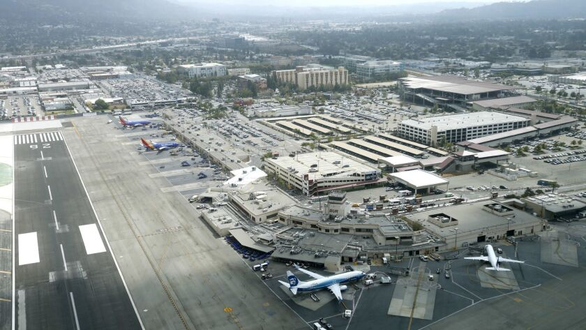A resolution was passed by the Burbank-Glendale-Pasadena Airport Authority on Monday in hopes of encouraging the Federal Aviation Administration to change its flight paths out of Hollywood Burbank Airport.