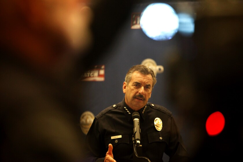 LAPD Chief Beck
