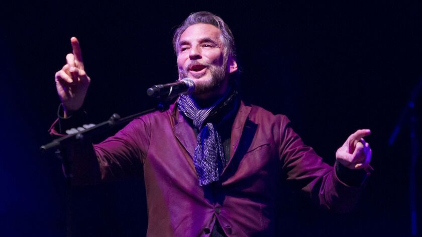 "Kenny Loggins sings a Christmas ballad during the Montage and KX 93.5 ""Winter Concert Classic"" at th"