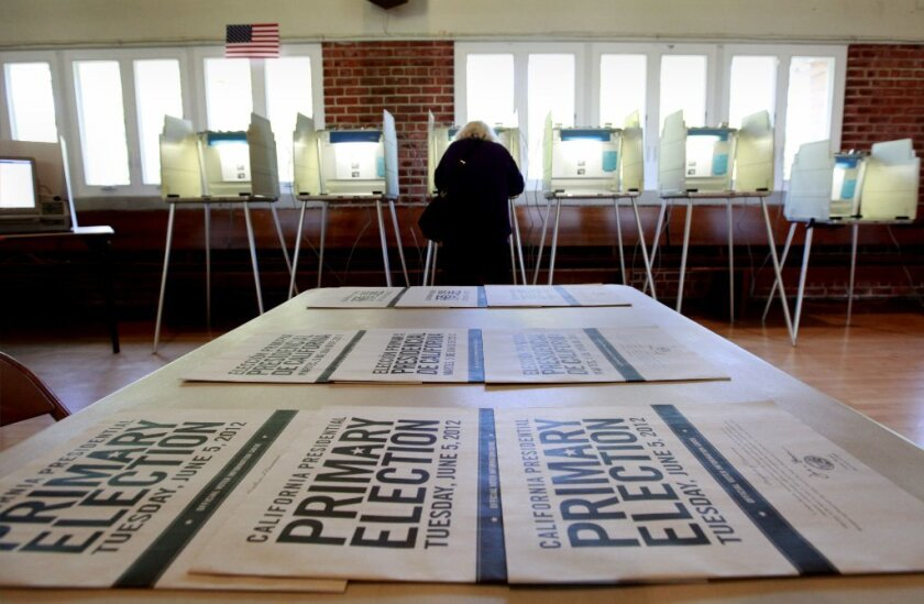 More than half of likely voters in California plan to vote by mail.