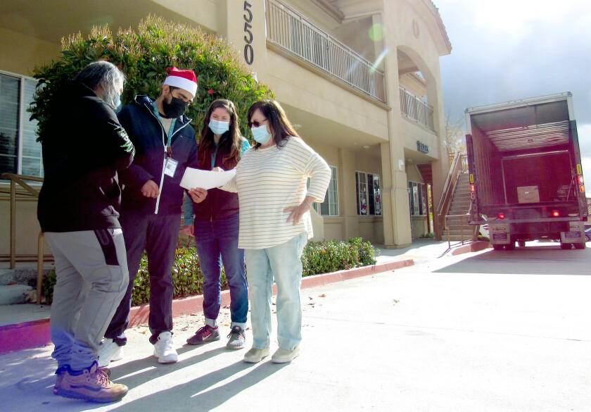 Nonprofit Crisis House left its 26-year home on Magnolia Avenue in El Cajon this month and opened their doors in Santee