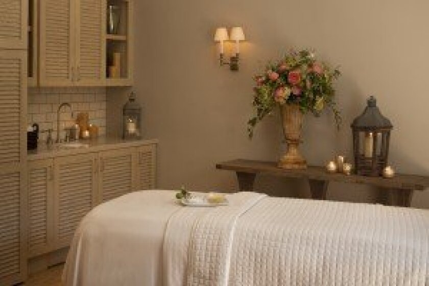 The Spa at the Inn at Rancho Santa Fe opened on July 12. Courtesy photo