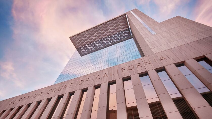 The state's new San Diego Central Courthouse