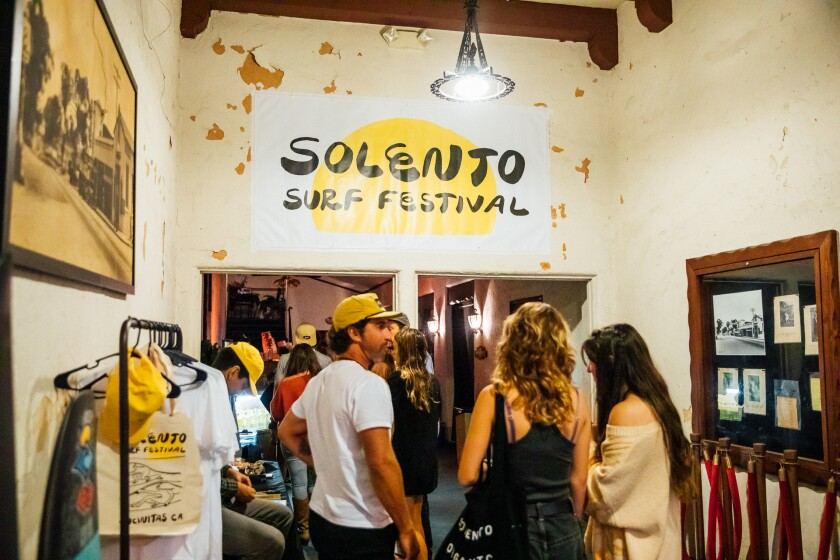The inaugural Solento Surf Festival took place at La Paloma Theater.