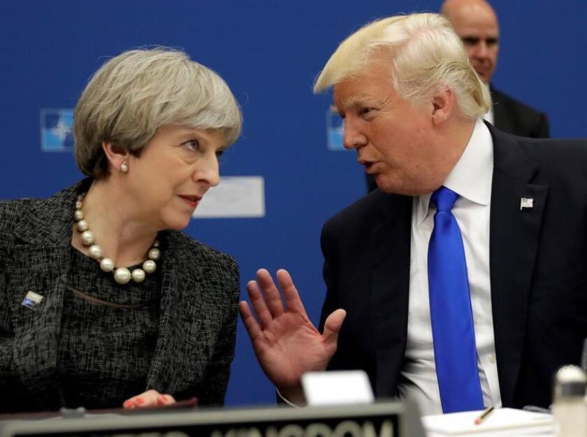 Londres insiste en que Trump se equivocó al retuitear vídeos de Britain First