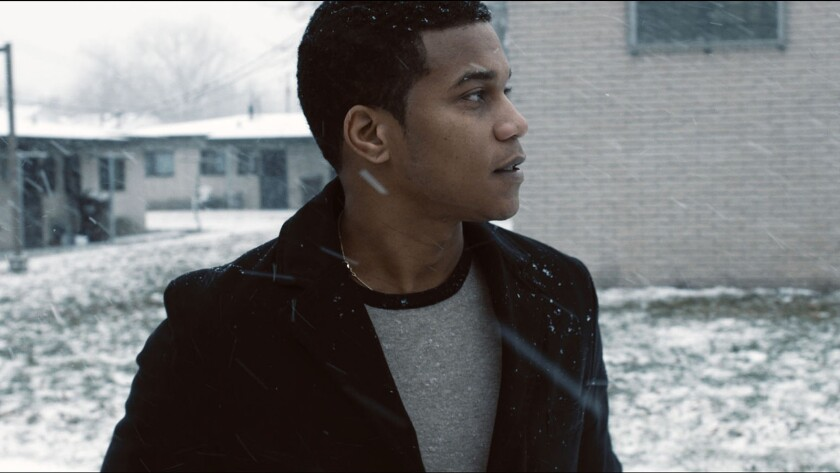 "Hill Harper in a scene from the movie ""Destined."" Credit: XLrator Media"