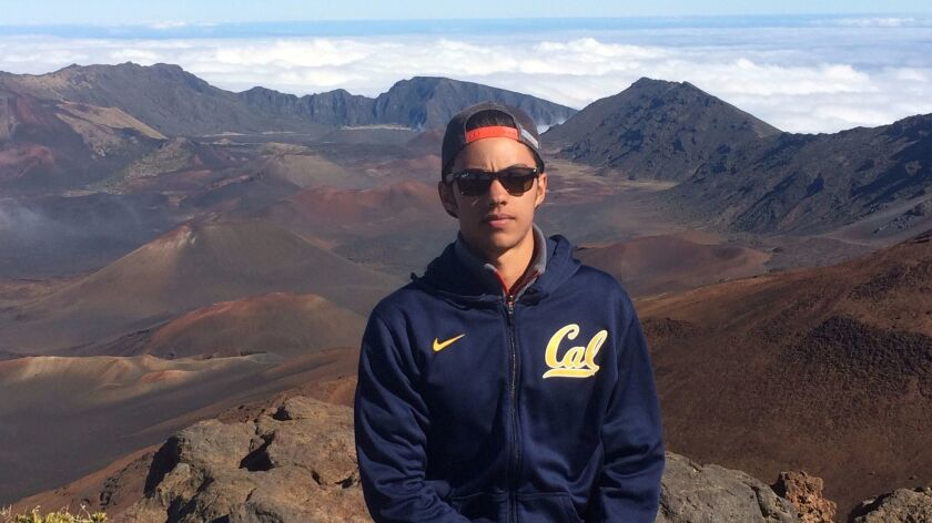 Nicolas Leslie, a Berkeley student from Del Mar, was killed in the terror attack in Nice on Bastille Day in July. His parents and the university are creating a study abroad scholarship in his honor.