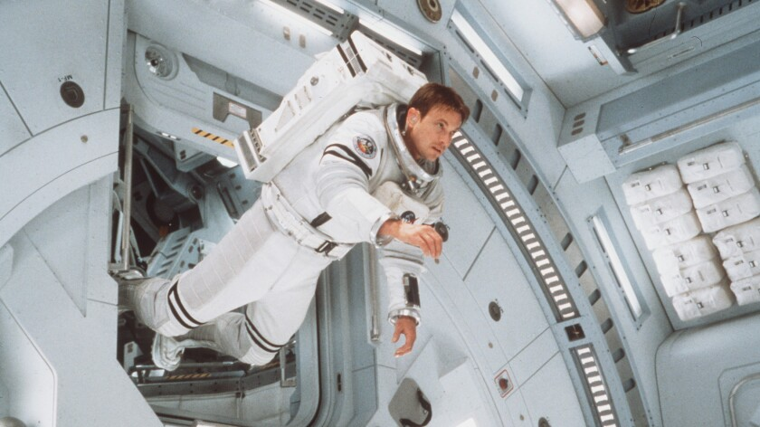 "Gary Sinise in the movie ""Mission to Mars."""