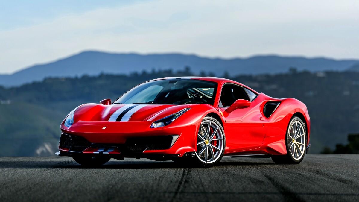 The Ferrari 488 Pista Brings Racetrack Performance To California Freeways Los Angeles Times