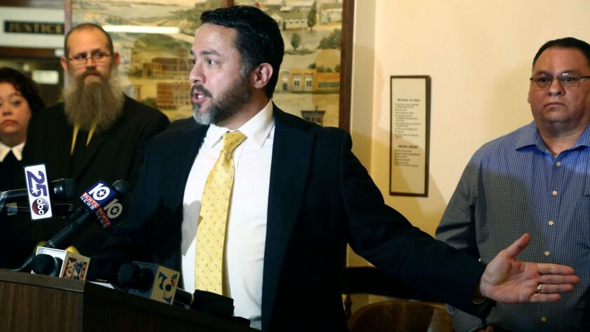 Attorney Brian Bouffard, who represents Jorge Daniel Salinas talks about his case being dropped by t