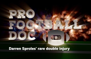 ProFootballDoc: Darren Sproles' rare double injury