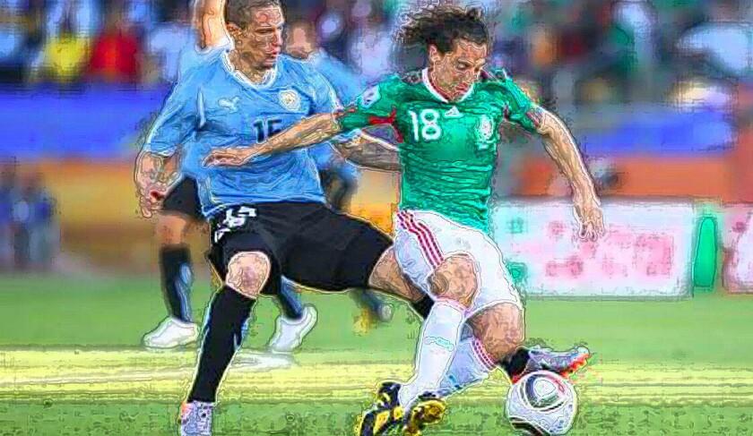 Uruguayos vsmexicanos, un choque imperdible en el Grupo C.