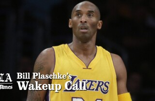 Bill Plaschke's Wakeup Call: Kobe Bryant's farewell tour is off to a bad start