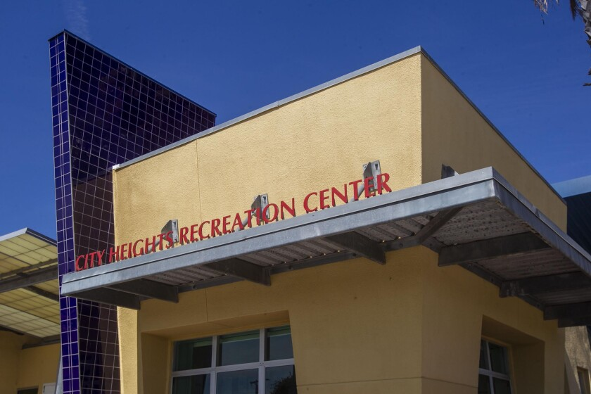 The City Heights Recreation Center could see reduced hours to help San Diego close $154M budget gap