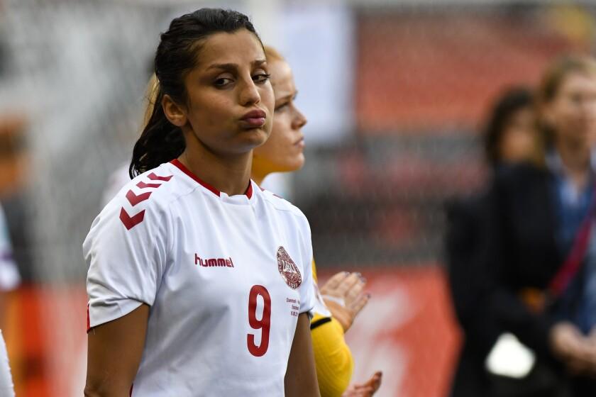 Netherlands Soccer Afghanistan Nadim's Return
