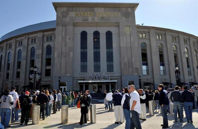 Vista general del Yankee Stadium, en Nueva York, Estados Unidos. EFE/Archivo