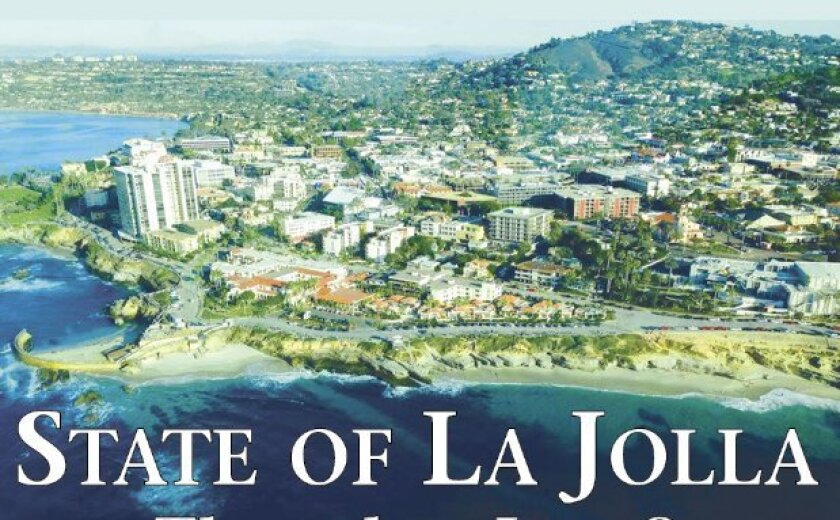 La Jolla, as taken from the air in a Cessna on Dec. 28, 2014 by University of Michigan student Savanah Harvey, home on winter break.