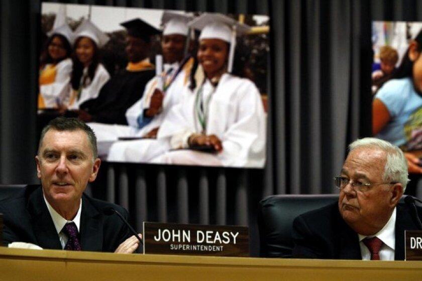 Officials release vote on Supt. Deasy's job evaluation