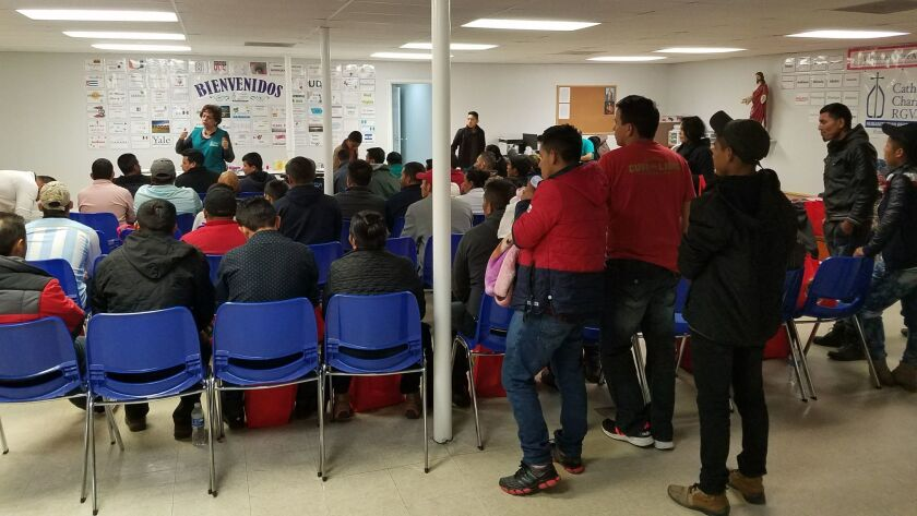 About 100 families from Guatemala, Honduras and El Salvador were released with notices to appear in immigration court last month in McAllen, Texas, while parents in El Paso were separated from their children and detained.