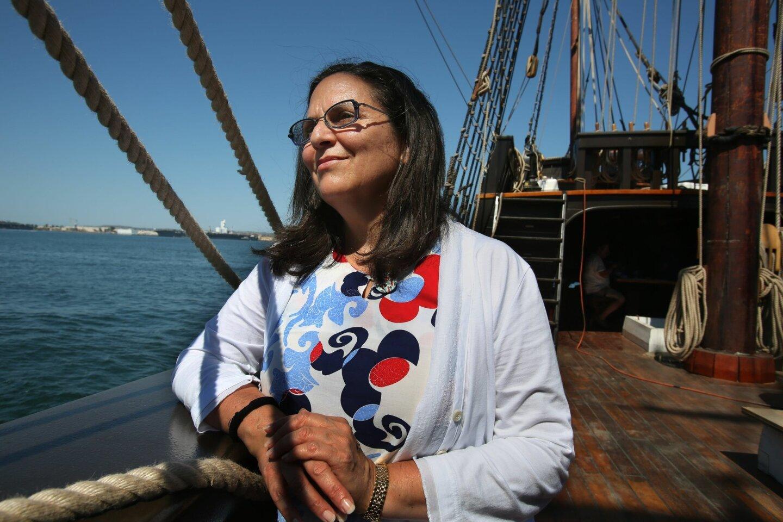 Cabrillo historian visits San Salvador