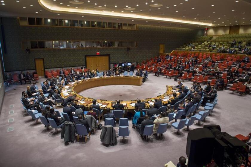 La situación en el enclave opositor sirio de Guta Oriental no ha mejorado en absoluto a pesar de la resolución reclamando una tregua aprobada el sábado por el Consejo de Seguridad de la ONU, aseguró hoy la organización. EFE/Loey Felipe/ONU/SOLO USO EDITORIAL/NO VENTAS
