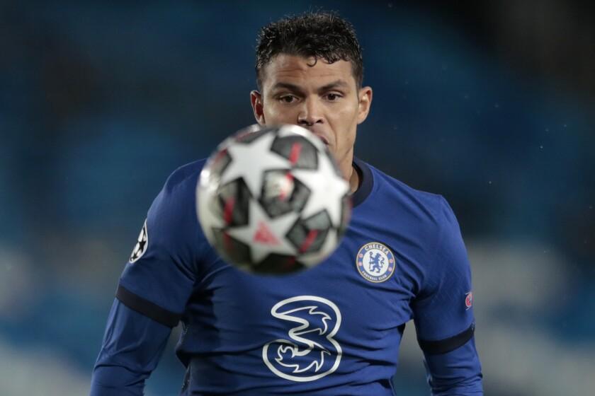 El defensa Thiago Silva, del Chelsea