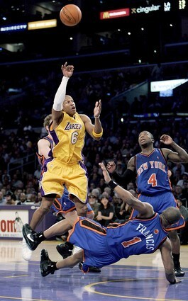 Lakers Maurice Evans