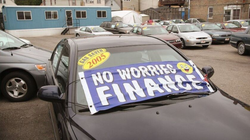 Despite the strong economy and low unemployment rate, many Americans are struggling to pay their bills. When car loan delinquencies rise, it is a sign of significant duress for low-income and working-class Americans.