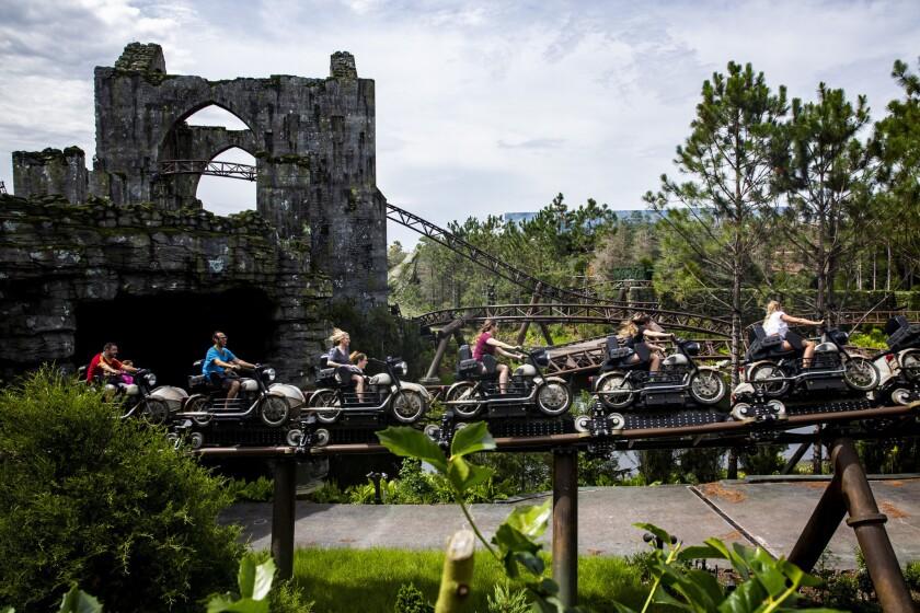 Universal Hagrid Motorbike Adventure