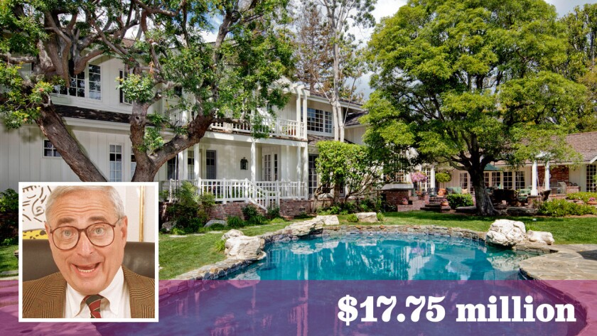 TV producer and executive Fred Silverman has sold his home in Brentwood for $17.75 million.