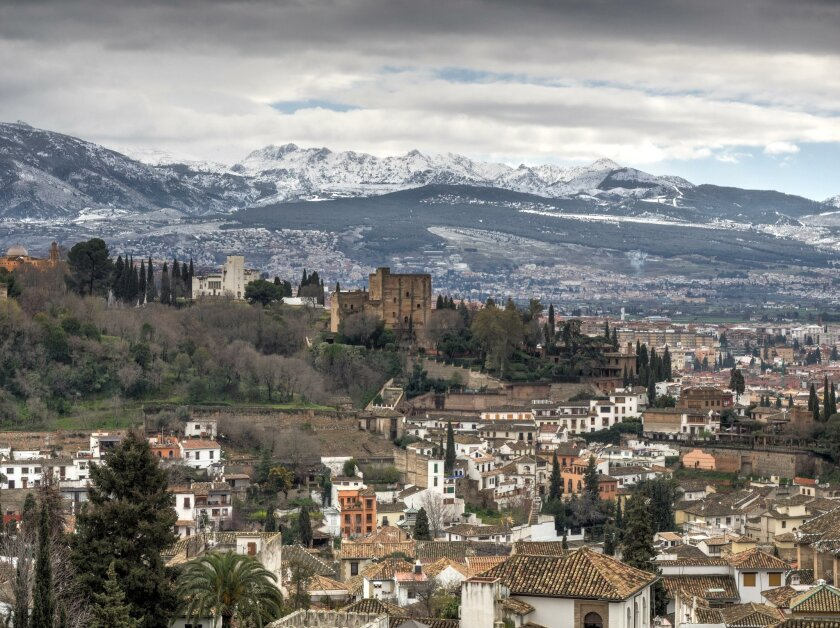 Jim Richter's photos illustrate six weeks in Spain (pictured here, Granada) which he will disucss at La Jolla Phototravlers Club 7:30 p.m. July 18 meeting.