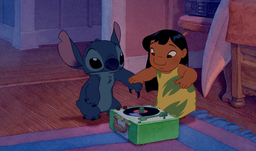 "Disney's 2002 movie, ""Lilo & Stitch,"" will be available to Hulu streaming service subscribers."