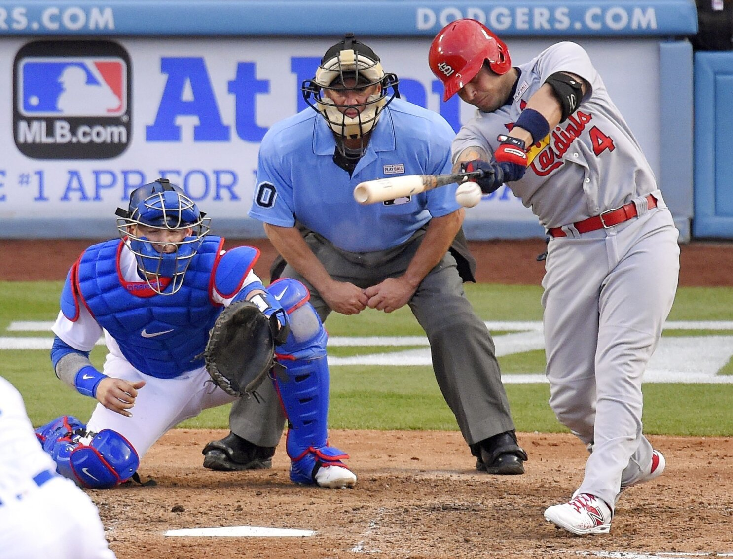 af3f8b33 Dodgers bullpen struggles again in 5-2 loss to Cardinals - The San ...